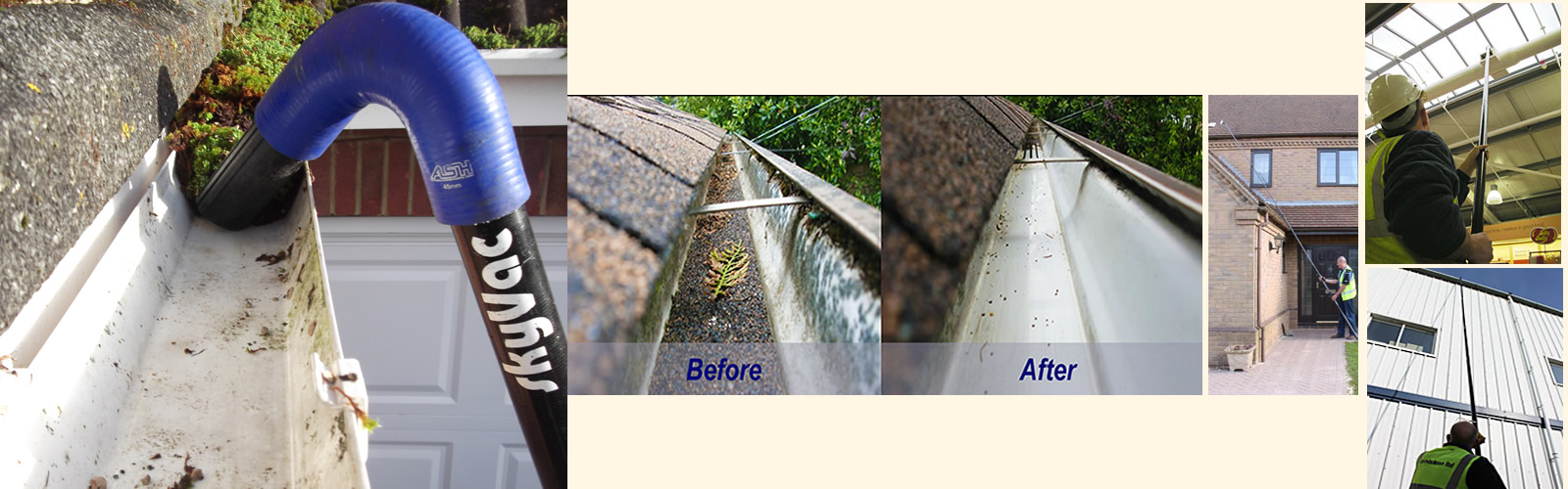Fairways Gutter Cleaning Services Solihull Warwick